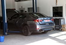 Spyshots: 2014 Lexus GS F Spotted in Germany