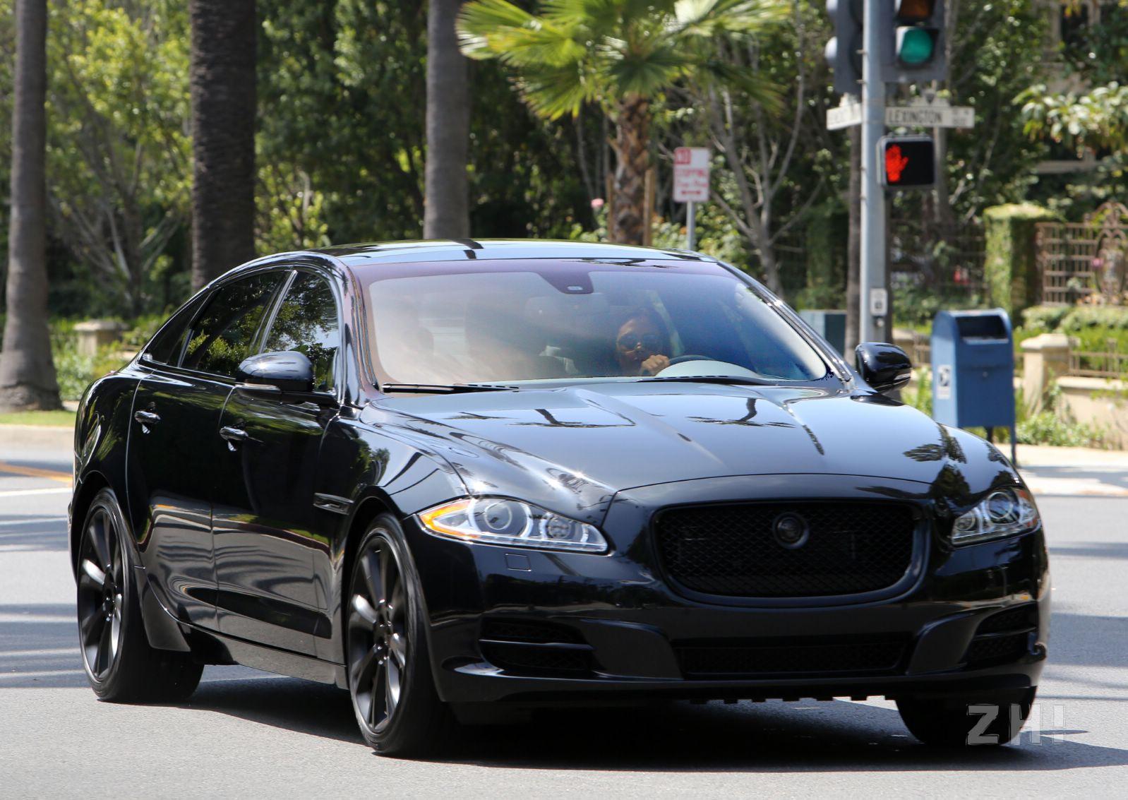 Victoria Beckham's Beastly Black Jaguar XJ - GTspirit - photo#28
