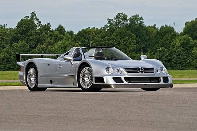2002 mercedes benz clk gtr roadster to be auctioned at for Mercedes benz clk 2013