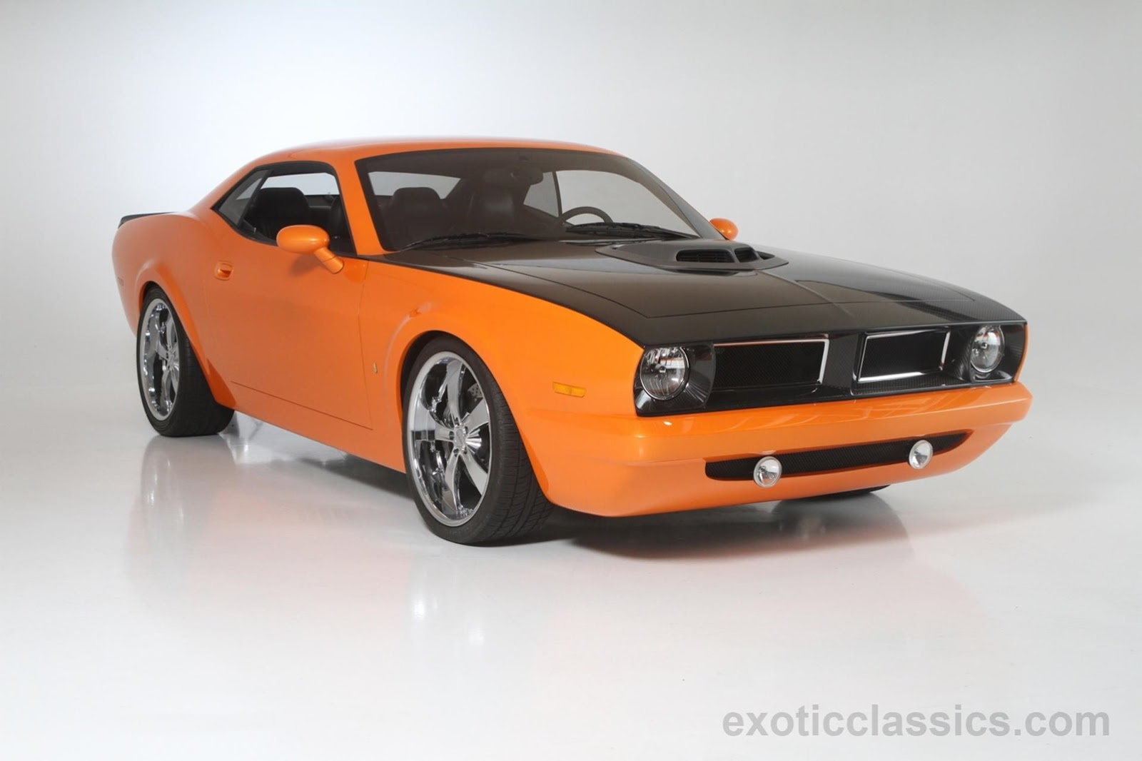 one off 2008 dodge concept cuda could be yours gtspirit. Black Bedroom Furniture Sets. Home Design Ideas
