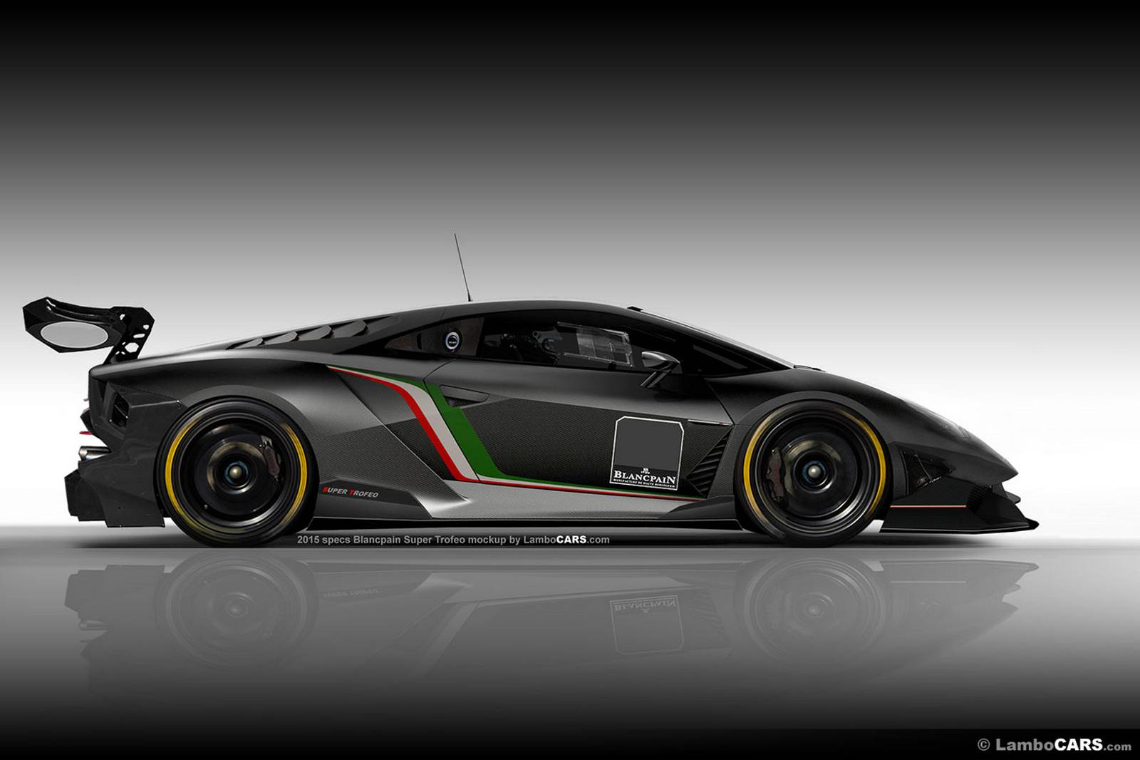2015 lamborghini super trofeo racer to be based on gallardo successor gtspirit. Black Bedroom Furniture Sets. Home Design Ideas