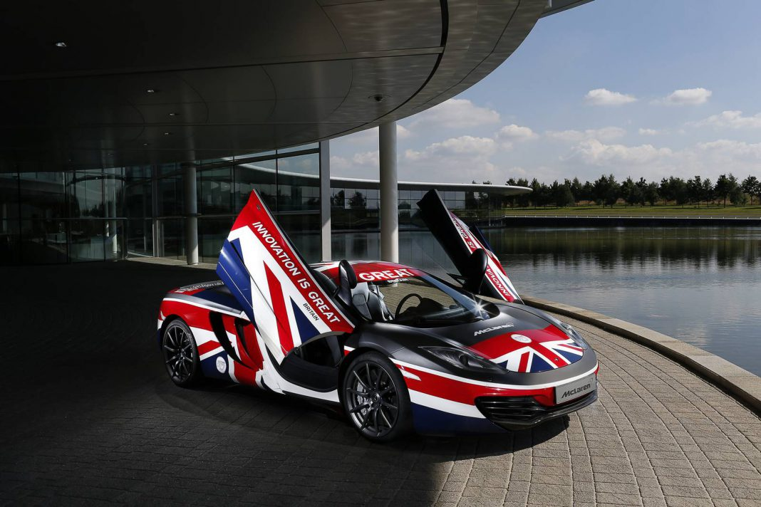 Jenson Button Reveals 'GREAT' McLaren 12C
