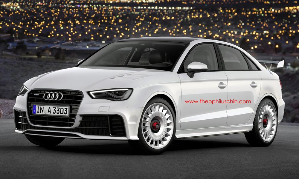 Render: Audi RS3 Sedan by Theophilus Chin - GTspirit