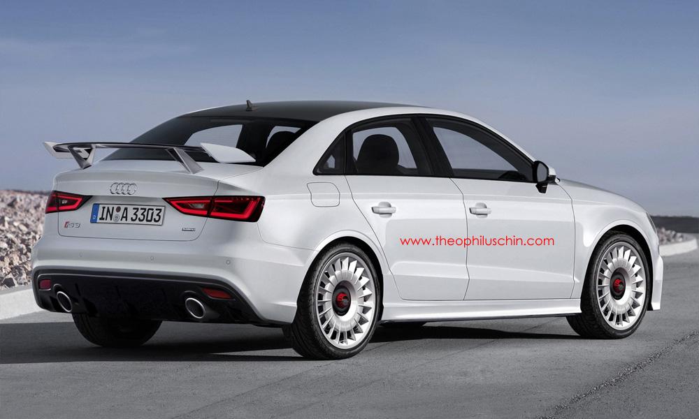 Render Audi Rs3 Sedan By Theophilus Chin Gtspirit