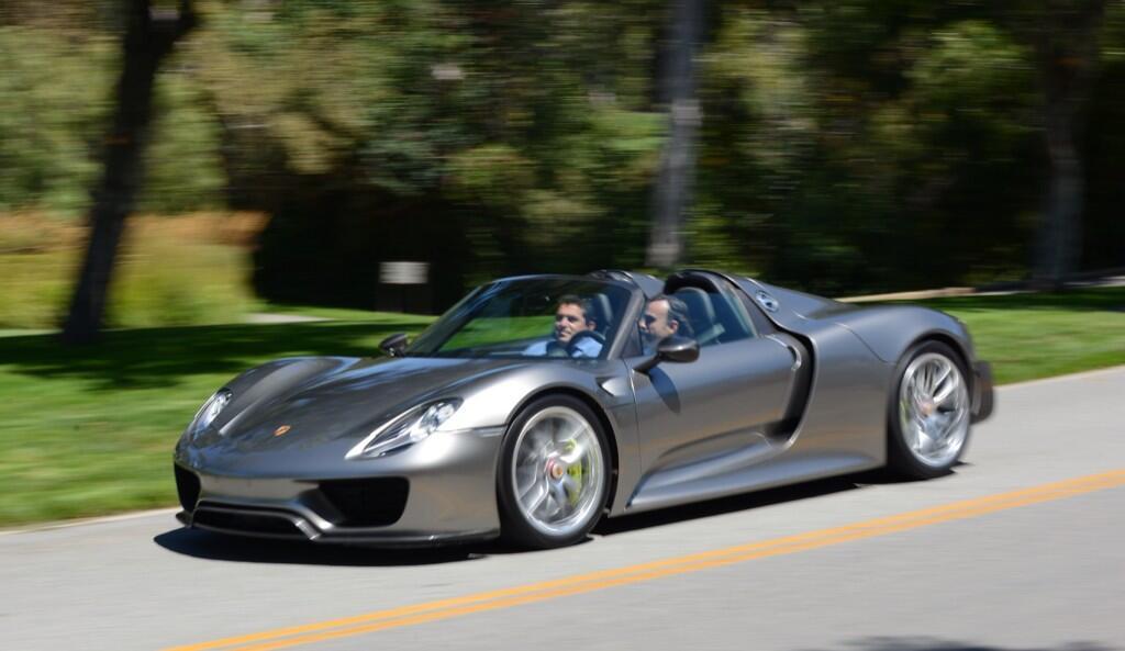 Teaser Porsche 918 Spyder Production Version Read For Pebble Beach