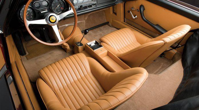 Ferrari 275 NART Spider Interior