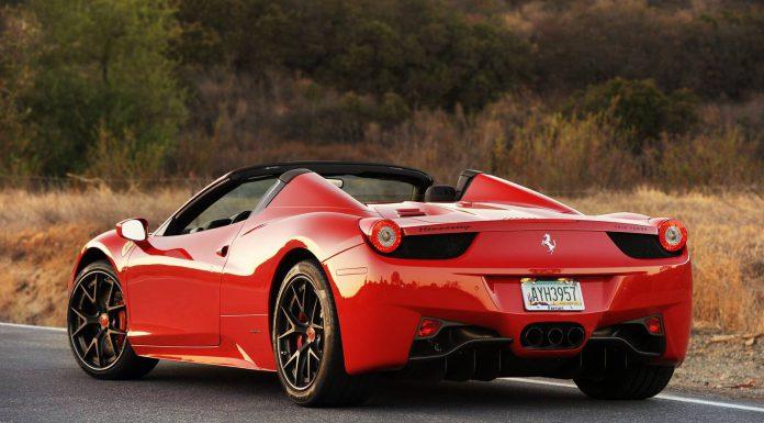 Ferrari 458 Spider HPE700 Twin Turbo Rear