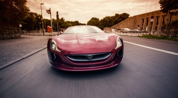 Front Rimac Concept One