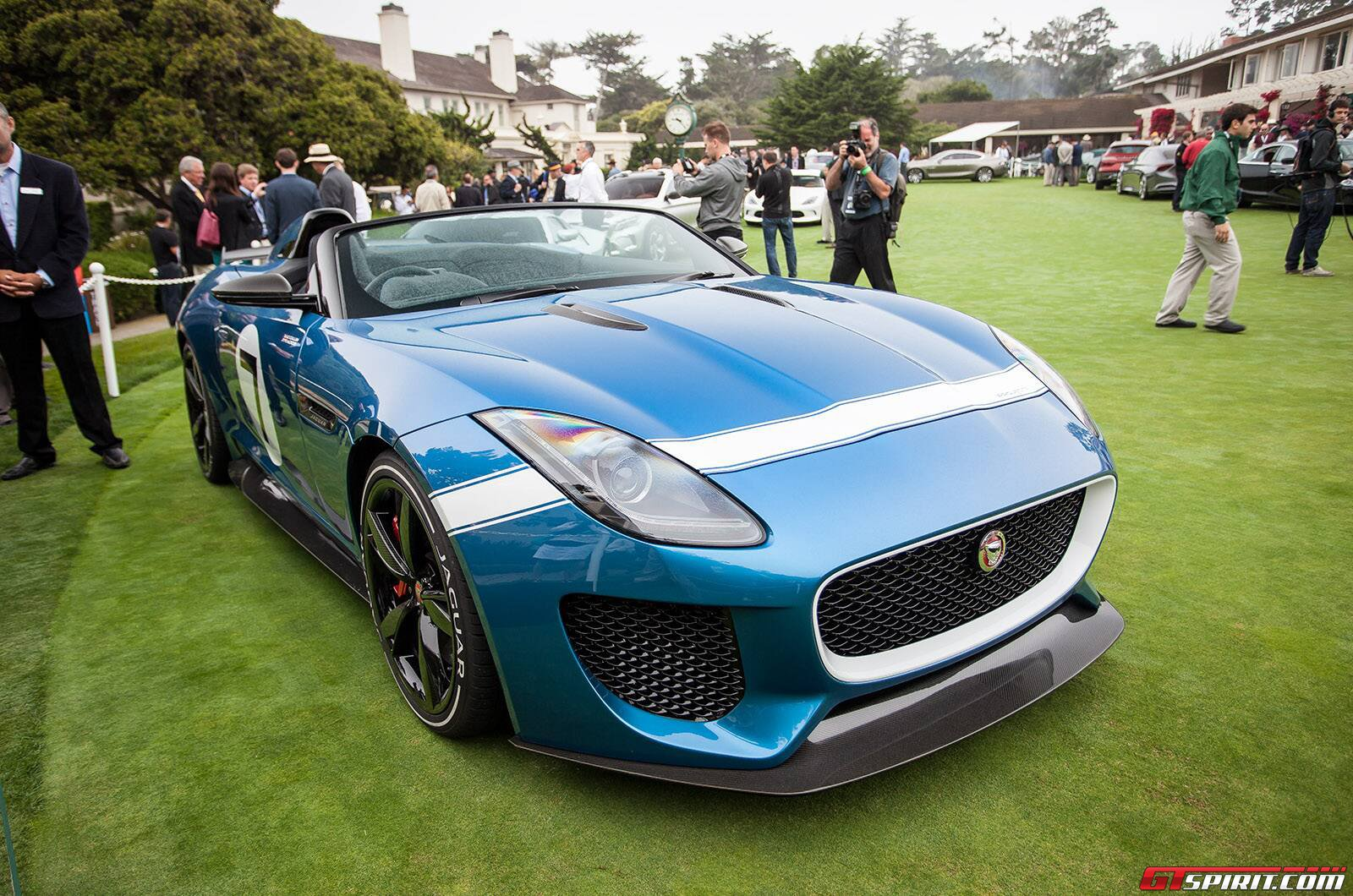 pebble beach 2013 jaguar f type project 7 gtspirit. Black Bedroom Furniture Sets. Home Design Ideas