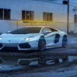 Showstopping White Lamborghini Aventador is Out of This World