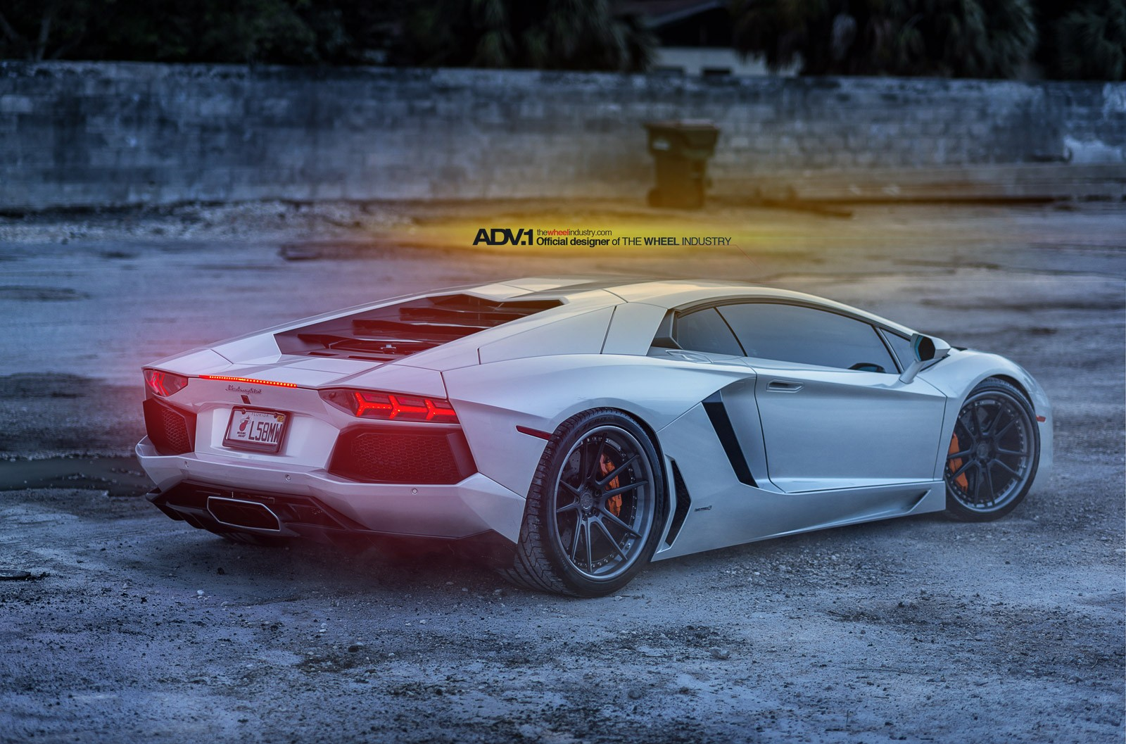 Showstopping White Lamborghini Aventador is Out of This ...