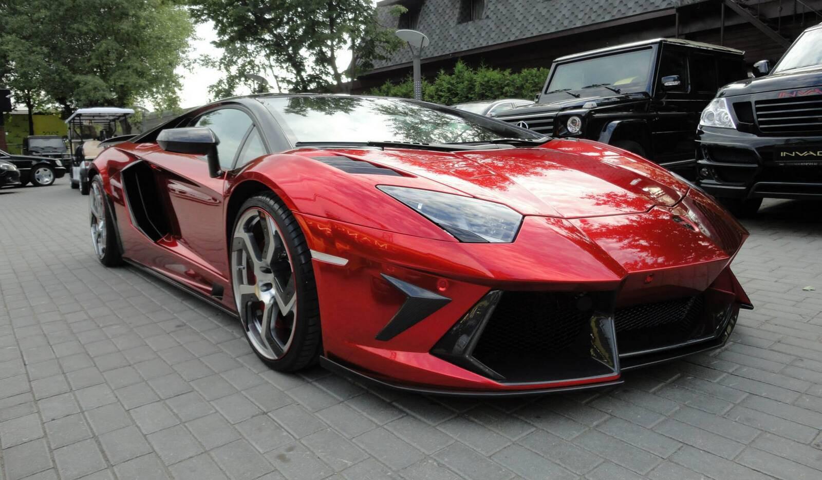 For Sale Mansory Lamborghini Aventador Gtspirit