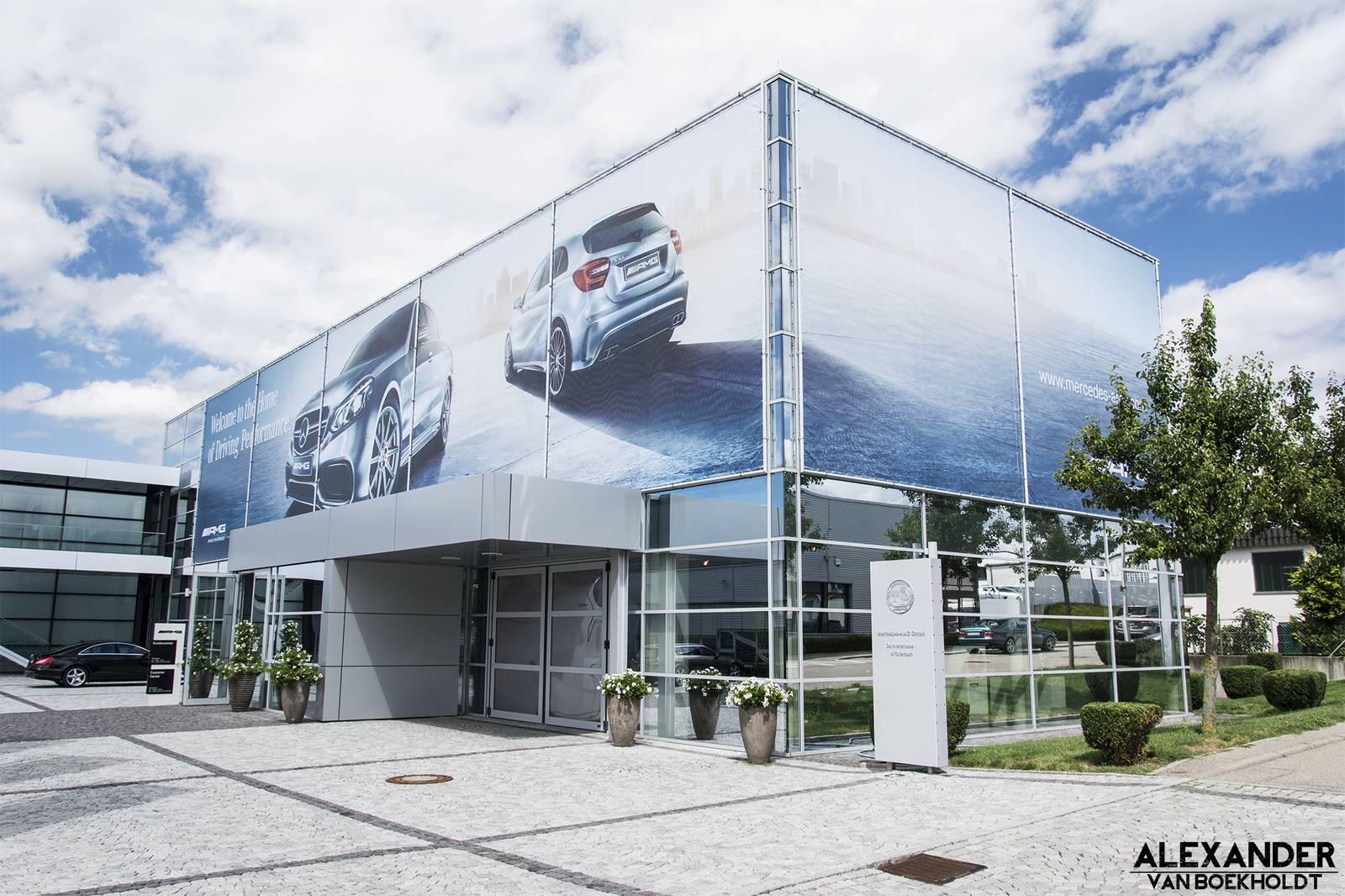 Factory visit mercedes amg headquarters gtspirit for Where is mercedes benz headquarters