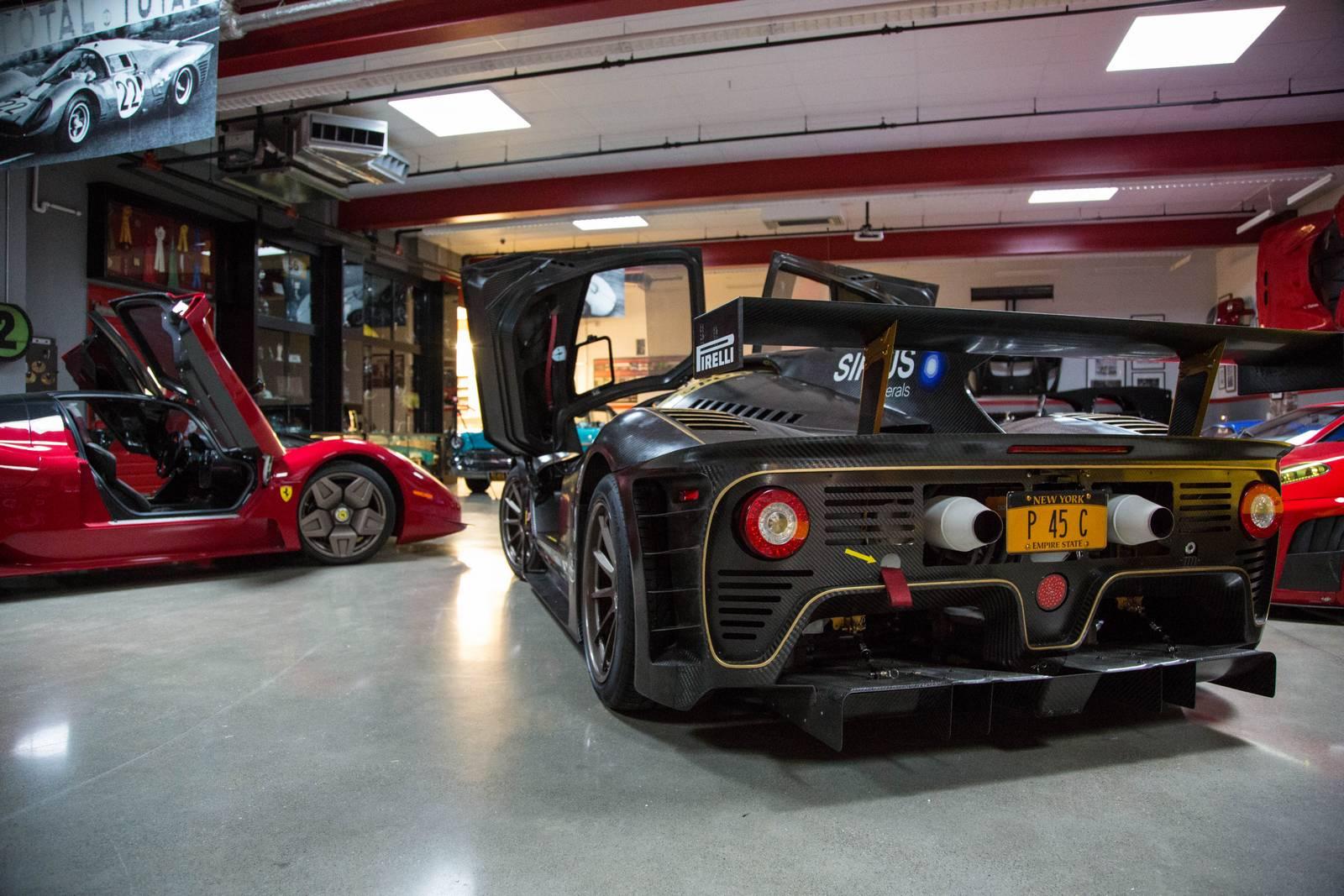 Pininfarina P45 Competizione Meets Ferrari P45 By