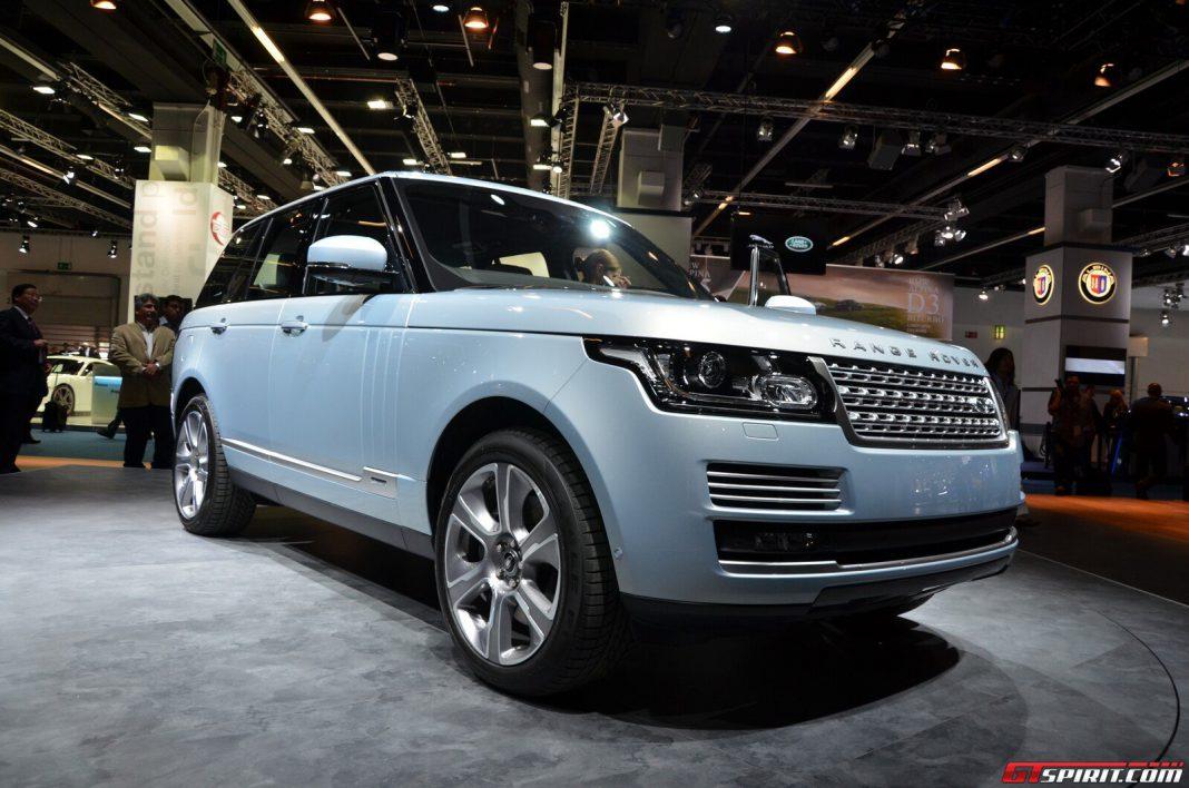 Frankfurt 2013 Range Rover Hybrid GTspirit
