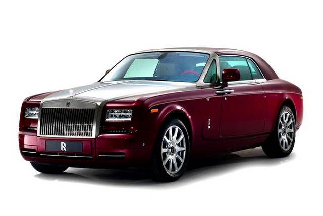 Official Rolls Royce Phantom Coupe Ruby Limited Edition For Abu