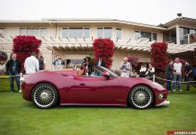 Spyker B6 Venator Spyder Concept at Pebble Beach