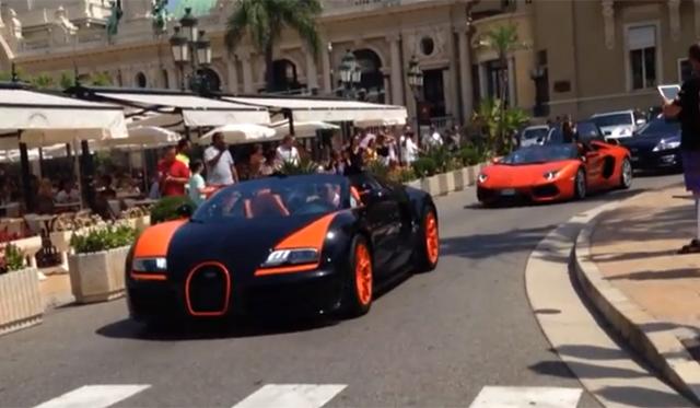 Video: Top Gear Spotted With Bugatti Veyron and Lamborghini Aventador
