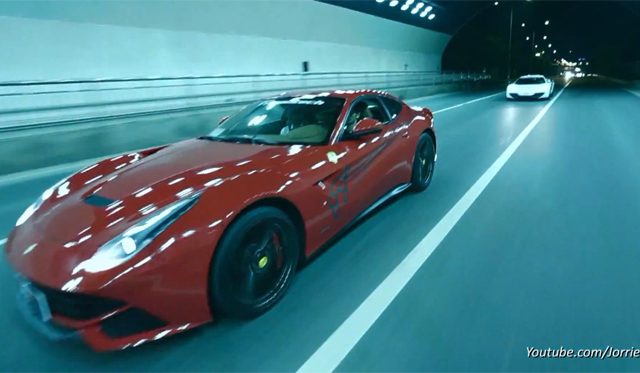 Video: Loud Tunnel Sounds From McLaren 12C and Ferrari F12 Berlinetta