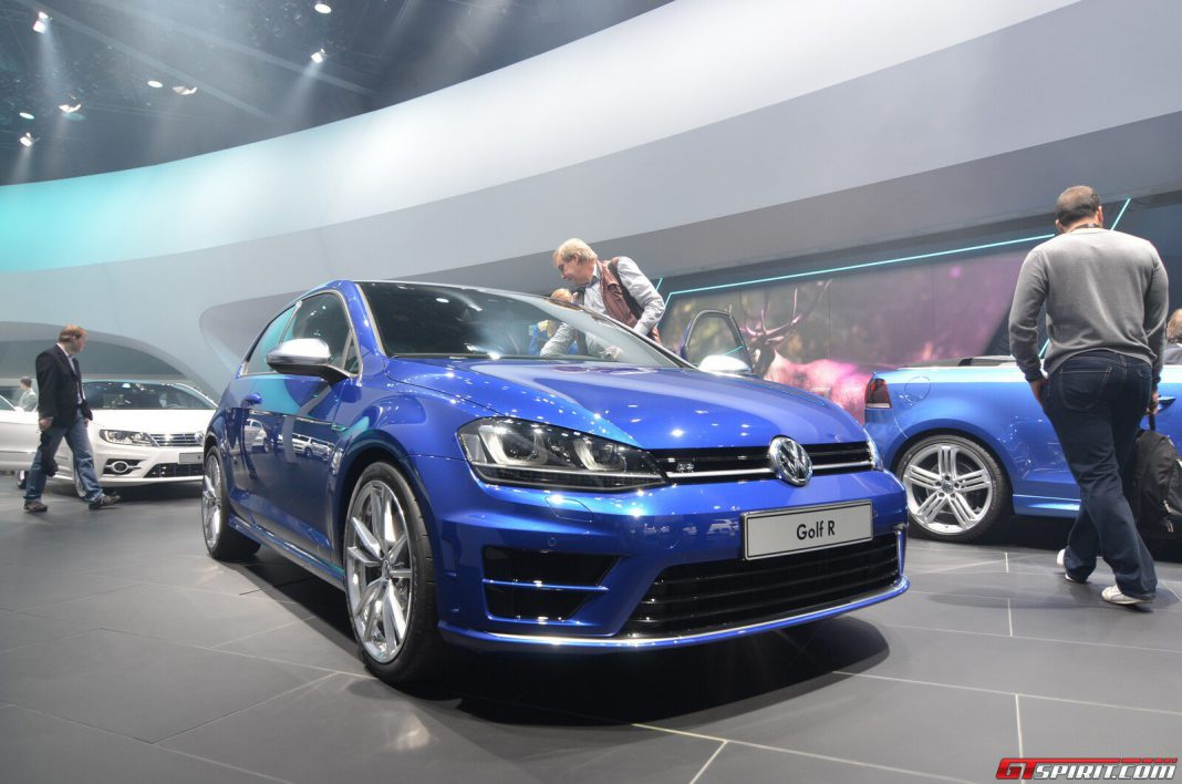 frankfurt 2013 volkswagen golf r gtspirit. Black Bedroom Furniture Sets. Home Design Ideas