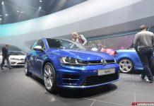 Volkswagen Golf R at Frankfurt