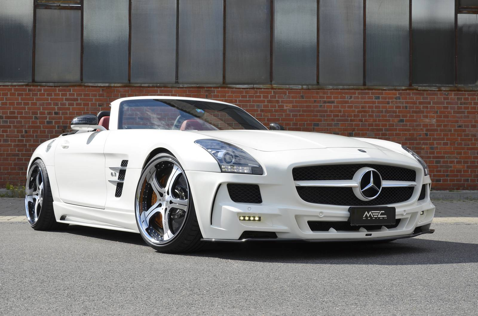 gallery mercedes benz sls amg roadster by mec design gtspirit. Black Bedroom Furniture Sets. Home Design Ideas