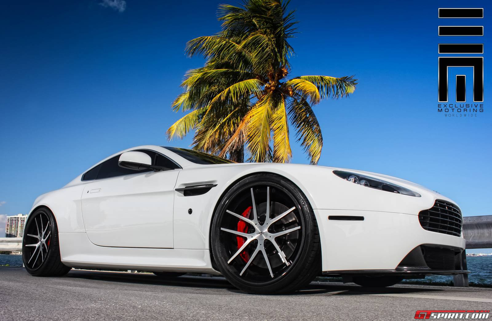 White Aston Martin Vantage S By Exclusive Motoring