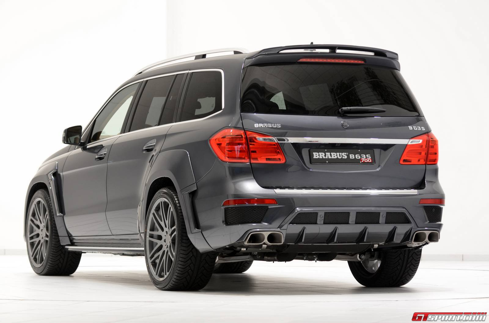 Official brabus b63s 700 widestar for mercedes benz ml 63 for Mercedes benz gls amg