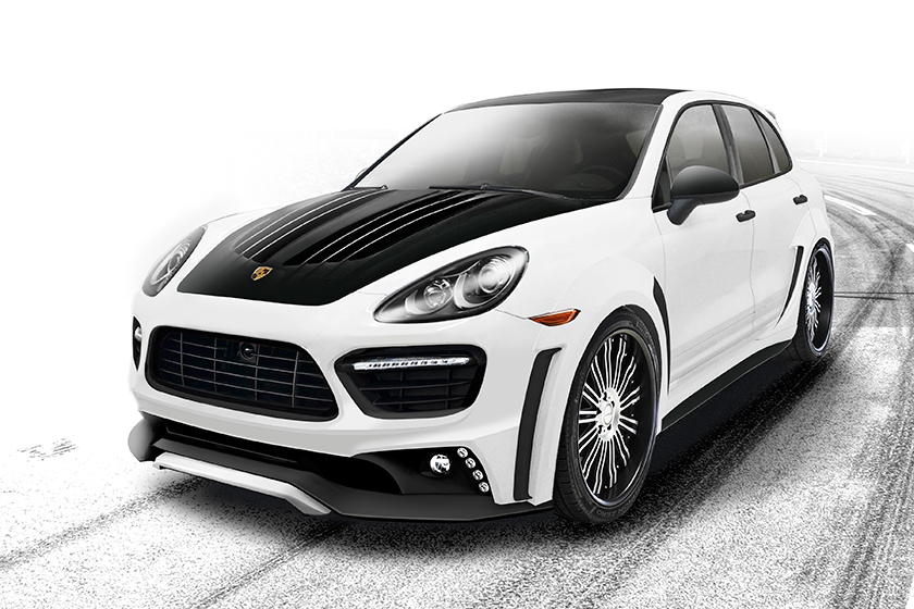 Preview: Porsche Cayenne Sports Line Black Bison Edition by Wald International