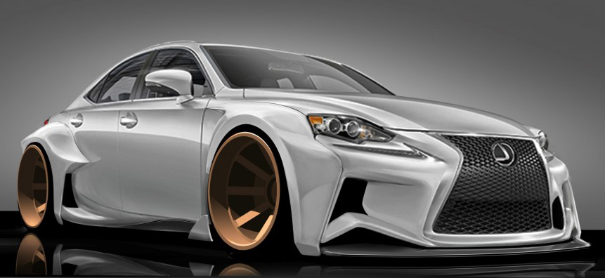 2014 Lexus IS Concept Heading to SEMA Thanks to DeviantART Designer
