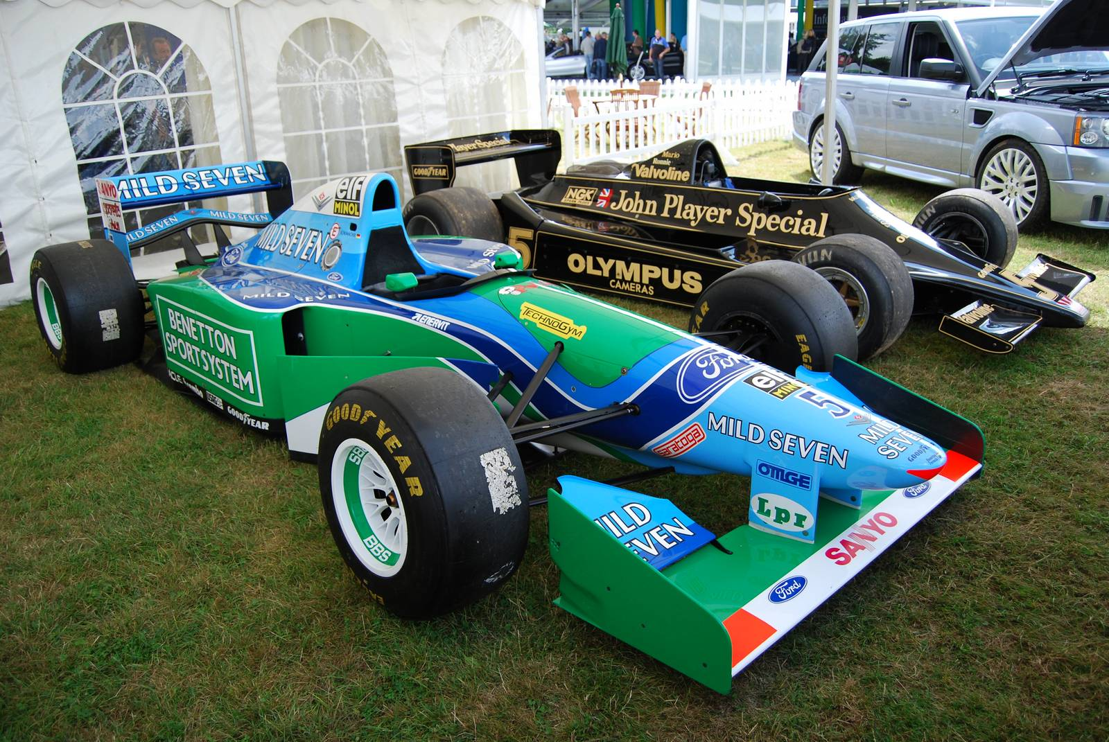 michael schumacher 39 s benetton f1 ford cosworth to be. Black Bedroom Furniture Sets. Home Design Ideas