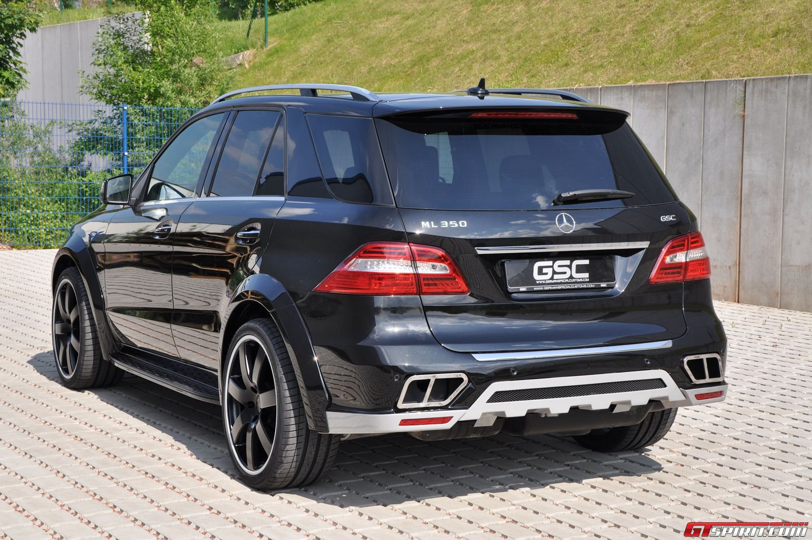 official  german special customs wide body kit for mercedes-benz ml-class