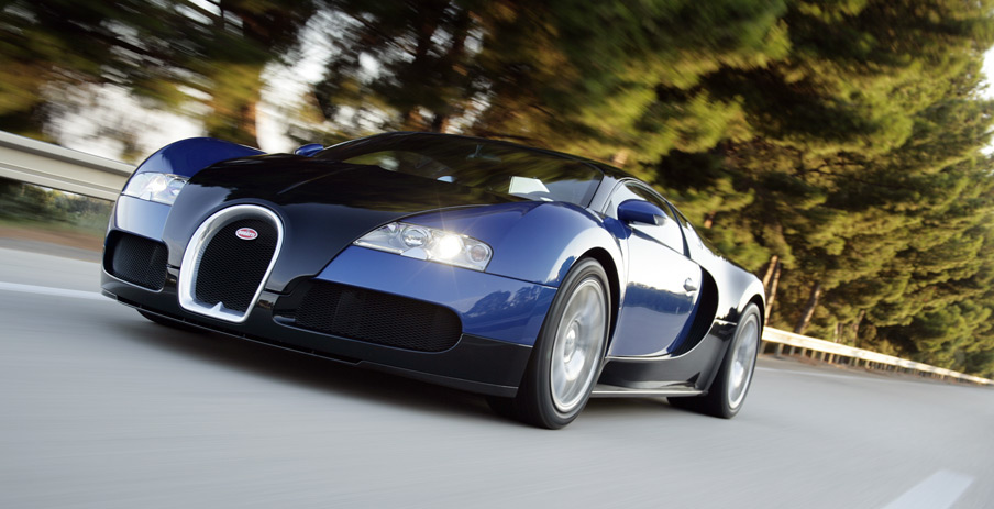 Rent a Bugatti Veyron in the U.K. for 'Just' $25K a day