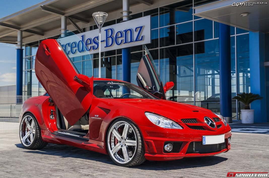 Mercedes benz slk55 amg by xclusive gtspirit for Mercedes benz slk 55 amg special edition