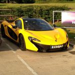 McLaren P1 Prototype Spotted at Gas Station in the U.K