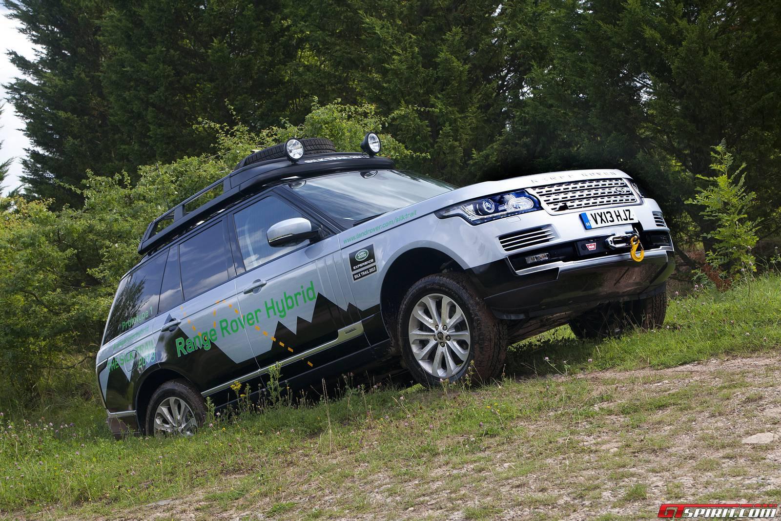 official range rover hybrid and range rover sport hybrid gtspirit. Black Bedroom Furniture Sets. Home Design Ideas