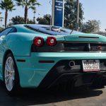 Tiffany Blue Ferrari 430 Scuderia Spotted in California