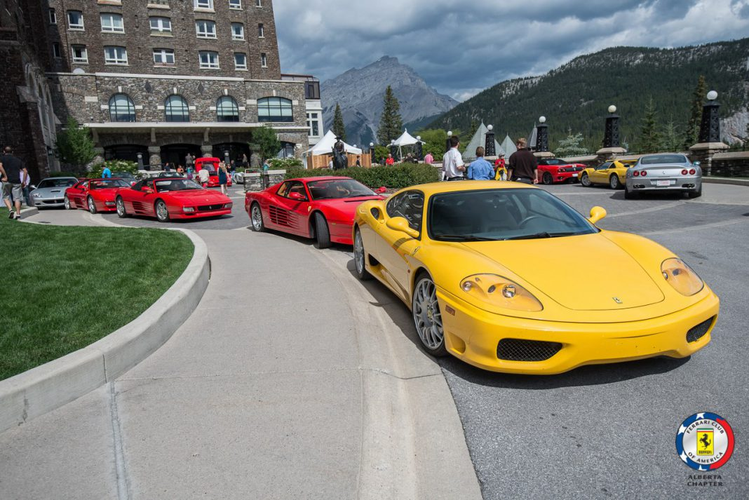 ferrari club of america alberta chapter drive in photos gtspirit. Cars Review. Best American Auto & Cars Review