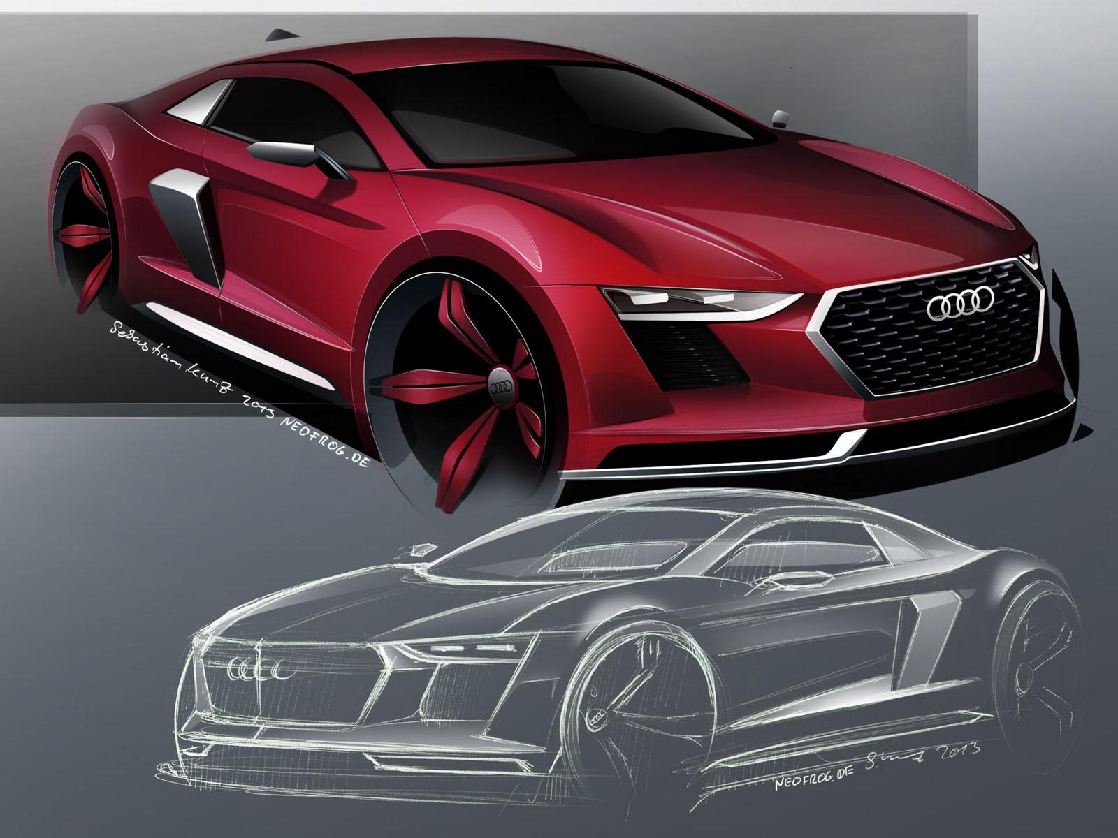 Revised 2017 Audi R8 Envisioned