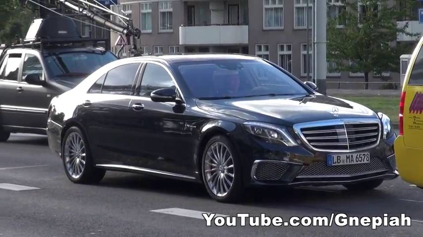 2014 mercedes benz s65 amg shows itself in public gtspirit for Mercedes benz s65 amg 2014