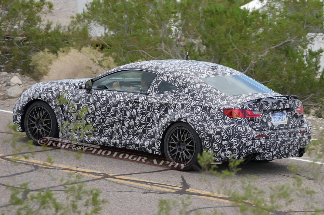 Sleek and Sporty 2015 Lexus RC-F Snapped