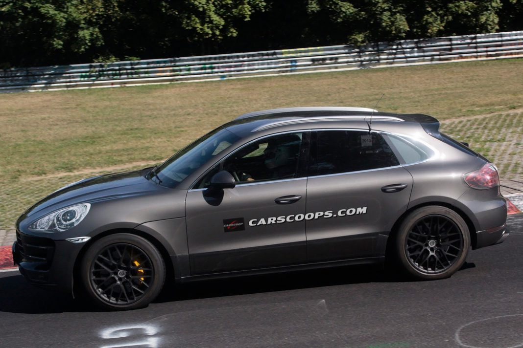 Porsche's Insane Macan Turbo Laps The 'Ring