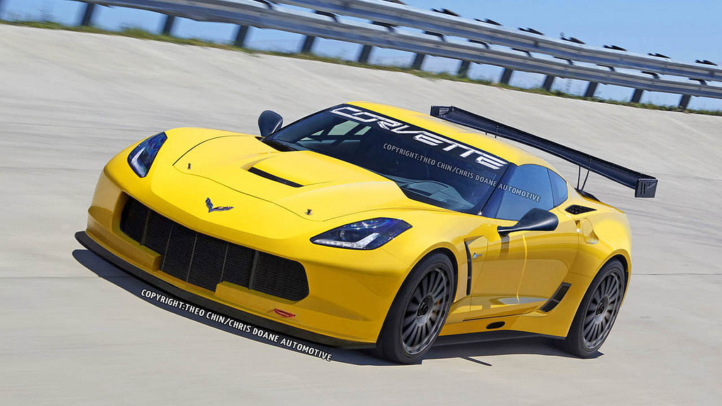 Chevrolet Corvette C7R Comes to Life (Virtually)