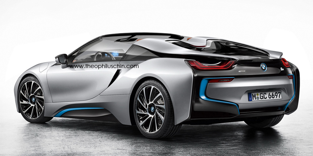 Bmw I8 Spyder Imagined By Theophilus Chin Gtspirit