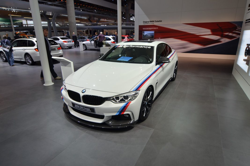 frankfurt 2013 bmw 435i m performance gtspirit. Black Bedroom Furniture Sets. Home Design Ideas