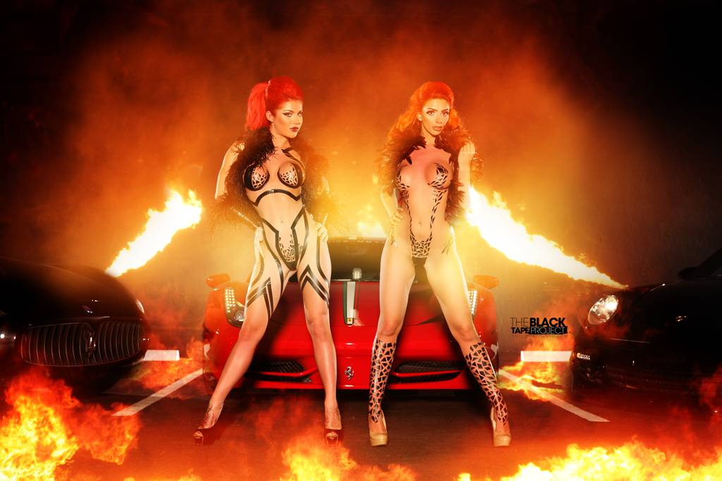 Cars And Girls Exclusive Motoring Supercars And Black