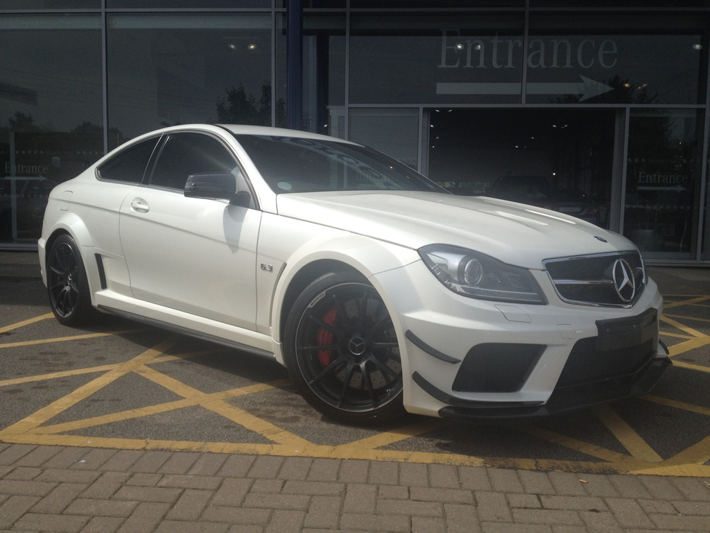 For sale mercedes benz c 63 amg black series gtspirit for Mercedes benz c63 amg black series for sale