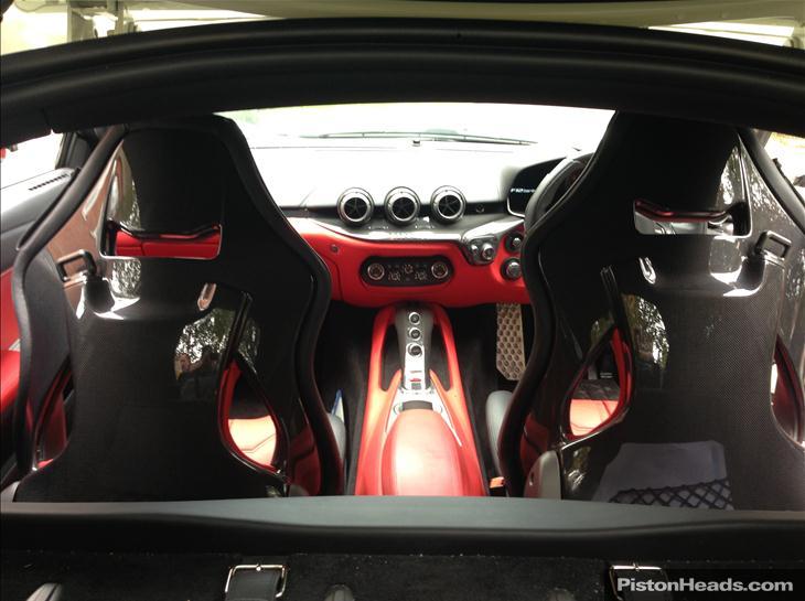 For Sale: 2013 Ferrari F12 Berlinetta Complete With £21,000 Of Interior  Carbon Fiber Upgrades!   GTspirit