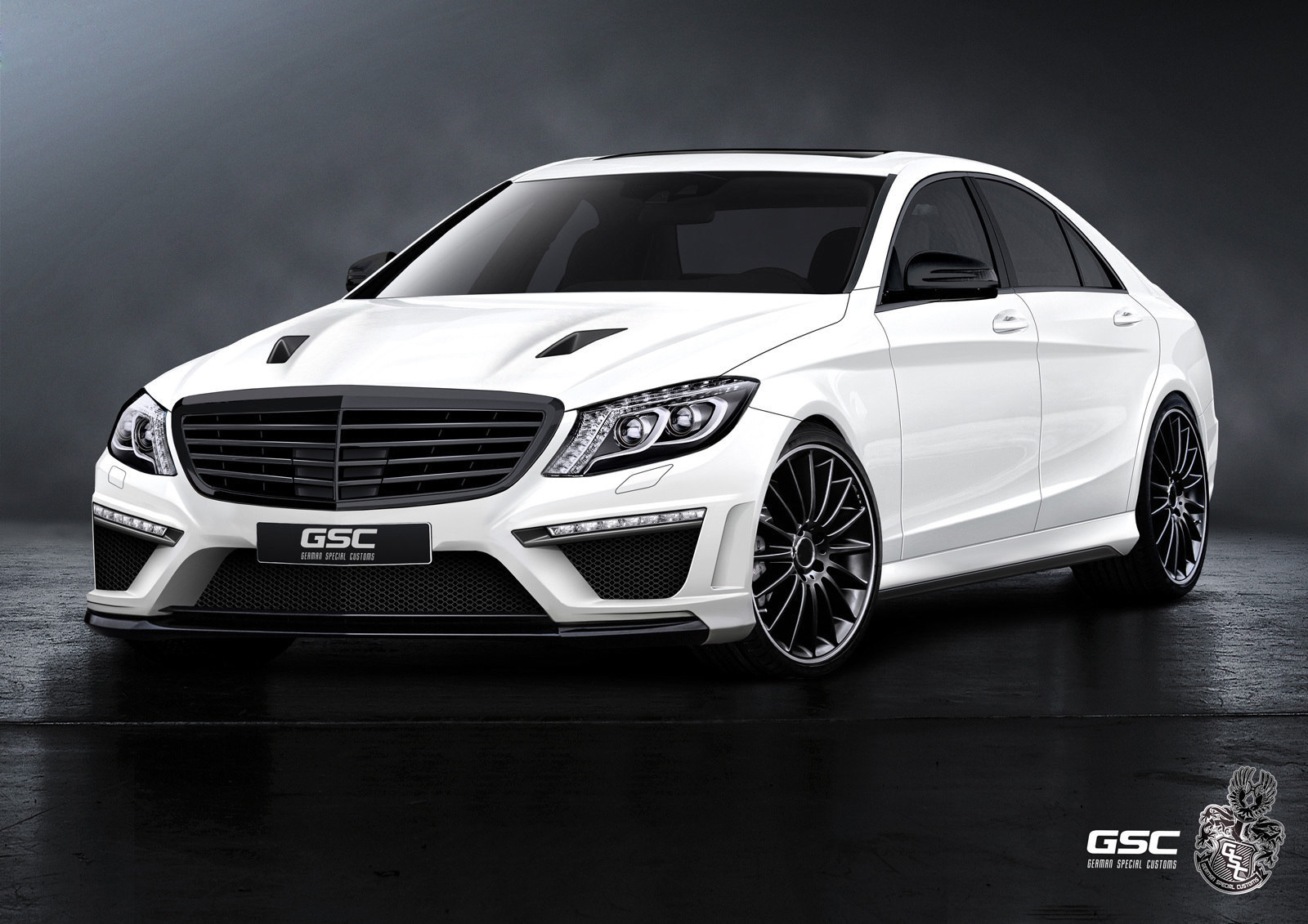 official  german special customs mercedes s-class w222