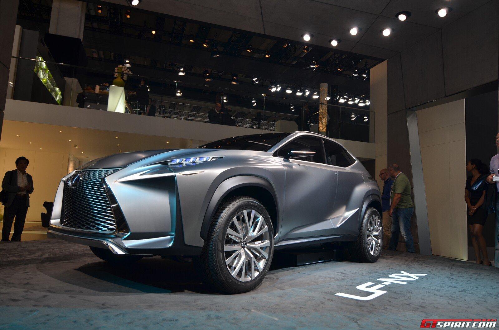 Frankfurt 2013: Lexus LF-NX Crossover Concept - GTspirit